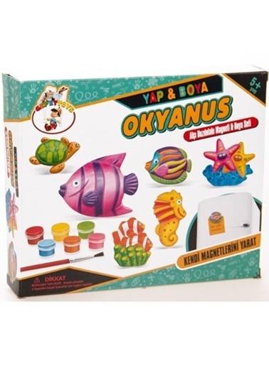 Fen Toys Fen Toys 02034 70 X 250 Mm 9'Lu Renkli Resimli Küpler Renkli